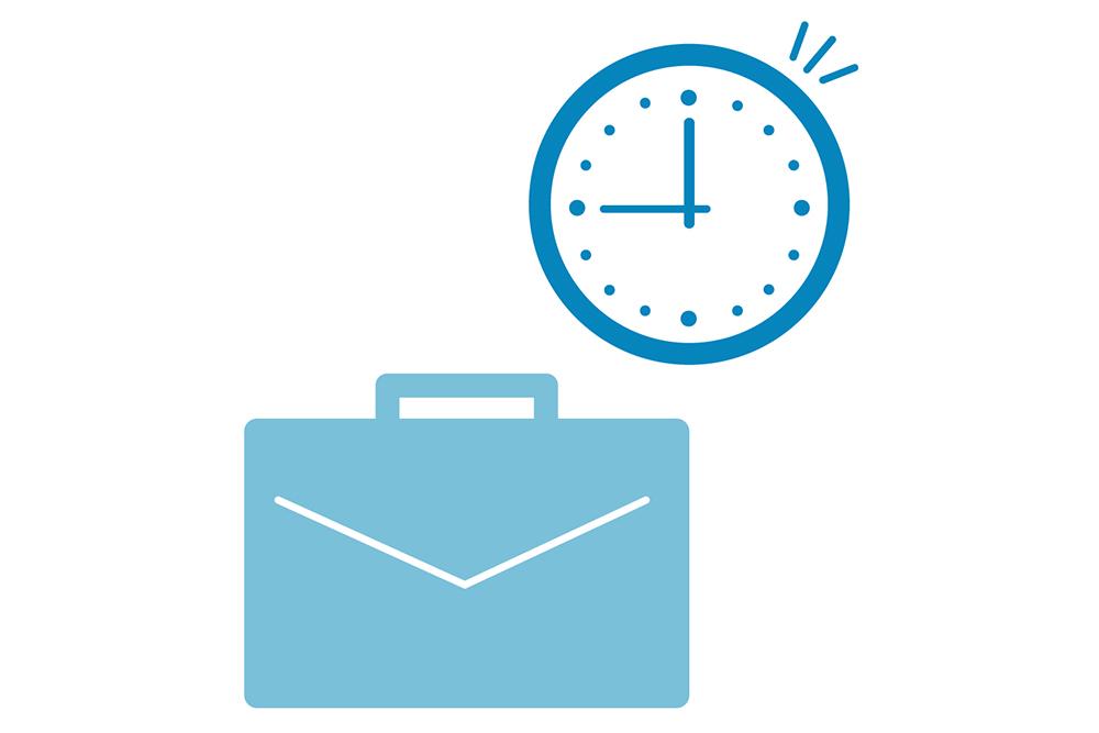 業務を切り分けることで、残業月平均10h未満。
